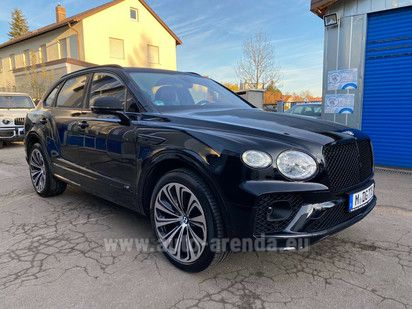 Buy Bentley Bentayga V8 4.0 First Edition in Europe