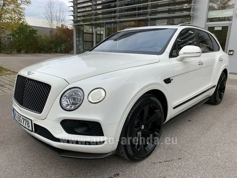 Купить Bentley Bentayga W12 в Европе