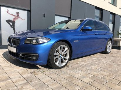 Buy BMW 525d Touring in Europe