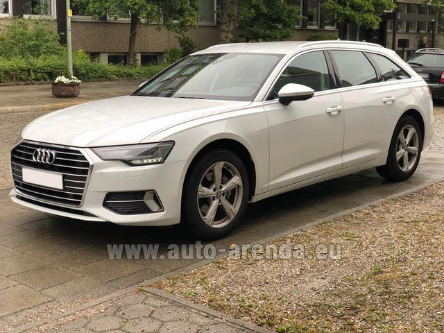 Rental Audi A6 40 TDI Quattro Estate in France