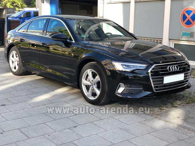 Rental Audi A6 45 TDI Quattro in France