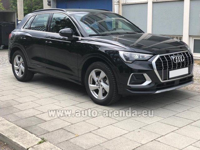 Rental Audi Q3 35 TFSI Quattro in France