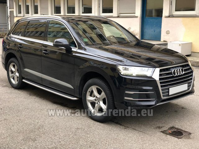 Rental Audi Q7 50 TDI Quattro 5-7 seats in France