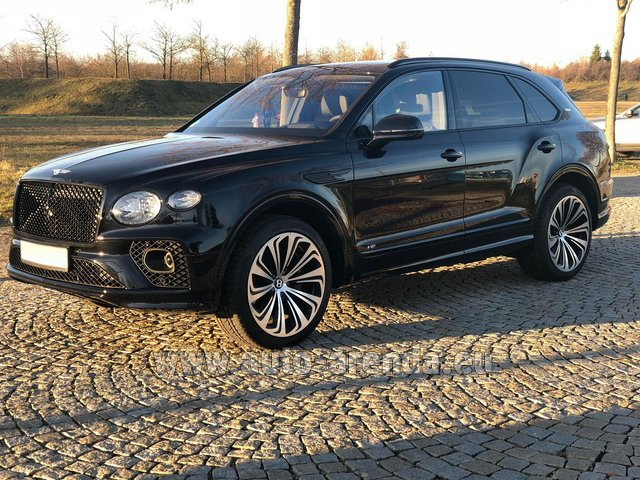 Rental Bentley Bentayga V8 new Model 2021 in Germany