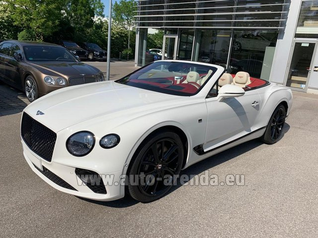 Rental Bentley GTC W12 First Edition 2019 in Monaco