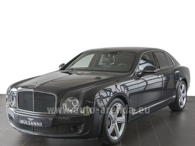 Прокат Бентли Mulsanne Speed V12 в Германии