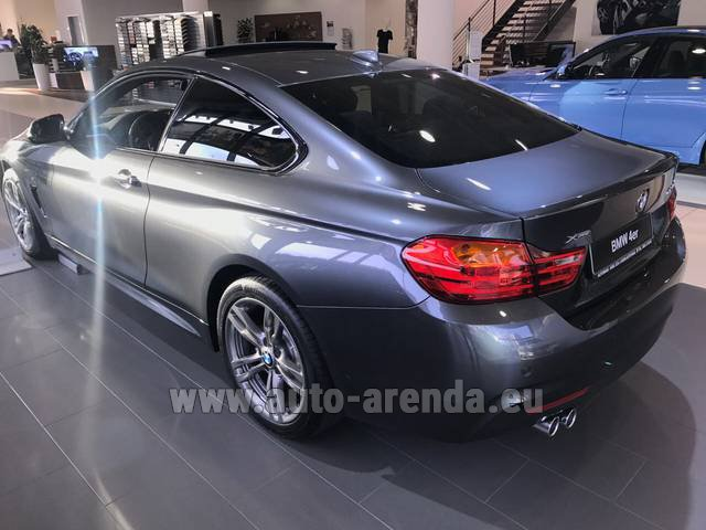 Rental BMW 420d xDrive Coupe M Sportpaket in Spain