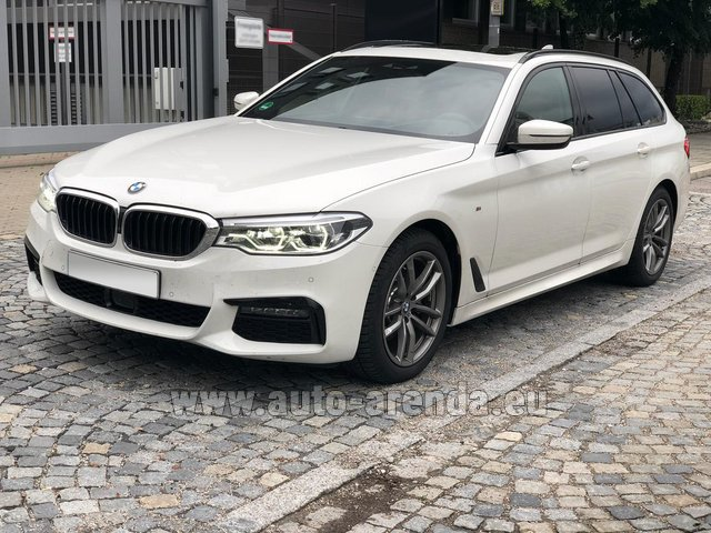 Rental BMW 520d xDrive Touring M equipment in Austria