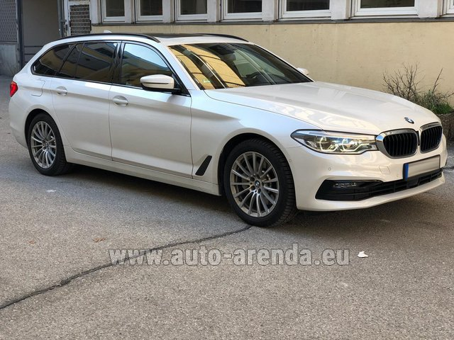 Rental BMW 5 Touring Equipment M Sportpaket in Germany