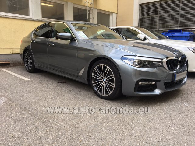 Rental BMW 540i M in Spain