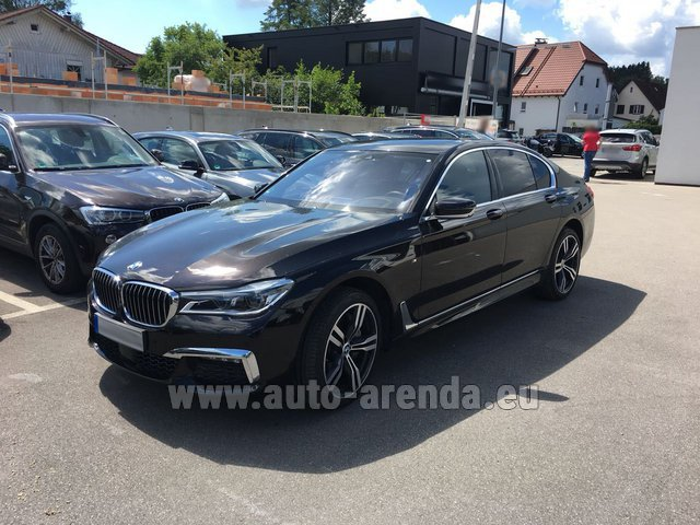 Rental BMW 750i XDrive M equipment in Germany
