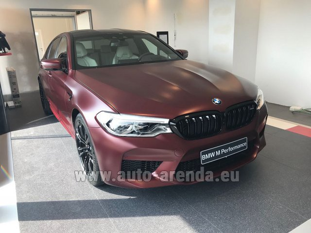 Rental BMW M5 Performance Edition in Spain