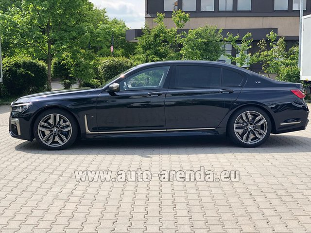 Rental BMW M760Li xDrive V12 in Germany