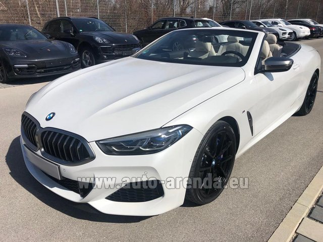 Rental BMW M850i xDrive Cabrio in Monaco