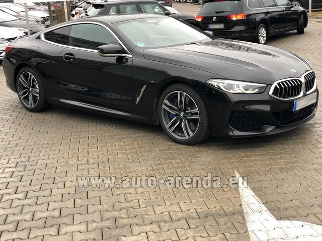 Прокат БМВ M850i xDrive Coupe в Европе