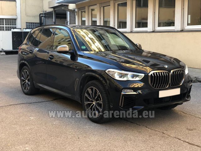 Rental BMW X5 M50d XDRIVE in Germany