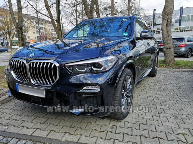 Rental BMW X5 xDrive 30d in Germany