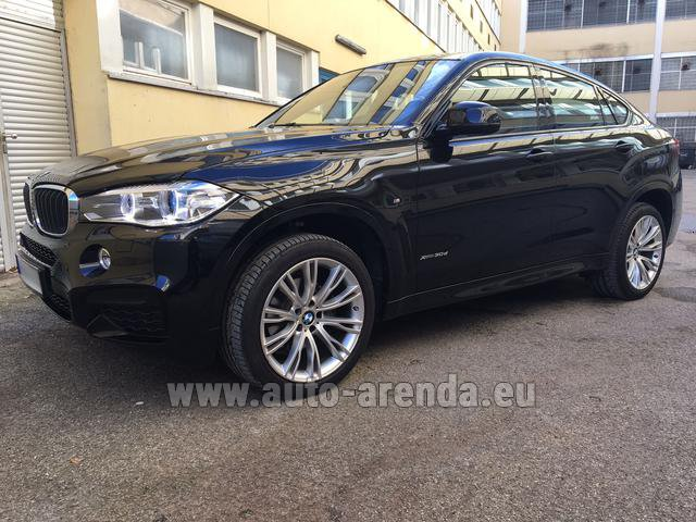 Прокат БМВ X6 3.0d xDrive High Executive M спорт пакет в Люксембурге