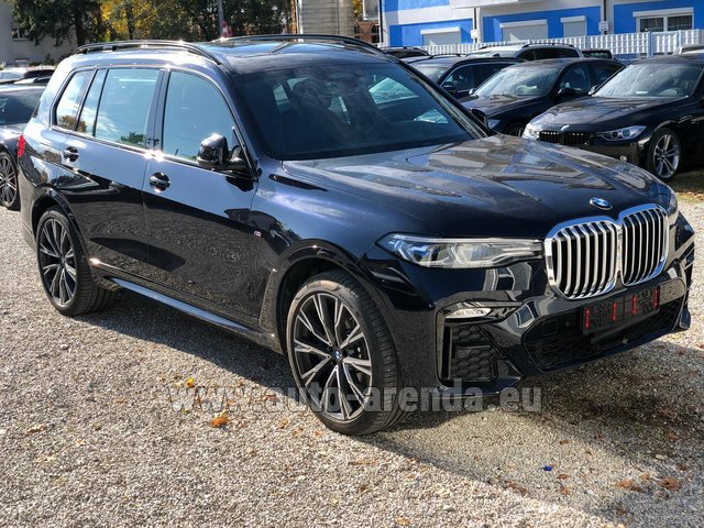 Rental BMW X7 xDrive40i in Germany