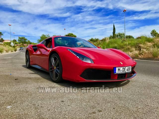 Rent The Ferrari 488 Car In Germany