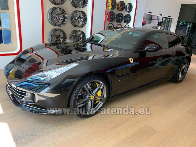 Rental Ferrari GTC4Lusso in Europe