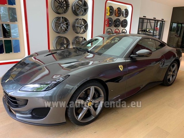 Rental Ferrari Portofino in Europe
