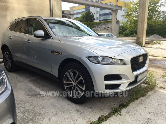 Rental Jaguar F-Pace in Switzerland