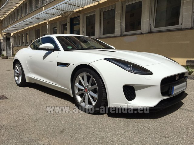 Rental Jaguar F-Type 3.0 Coupe in The Czech Republic