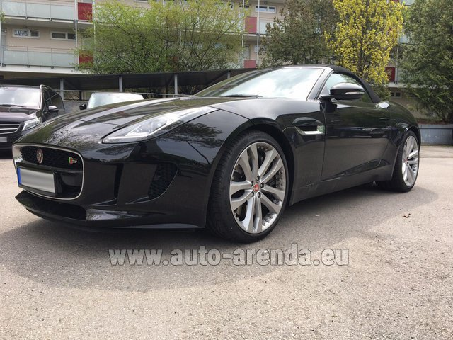 Rental Jaguar F Type 3.0L in Europe