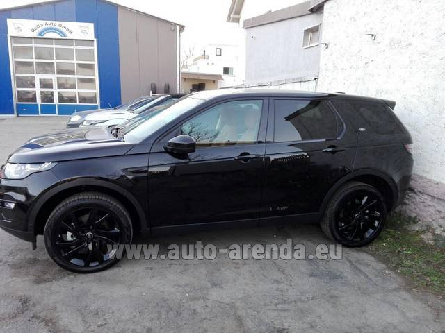Rental Land Rover Discovery Sport HSE Luxury (5-7 Seats) in Italy