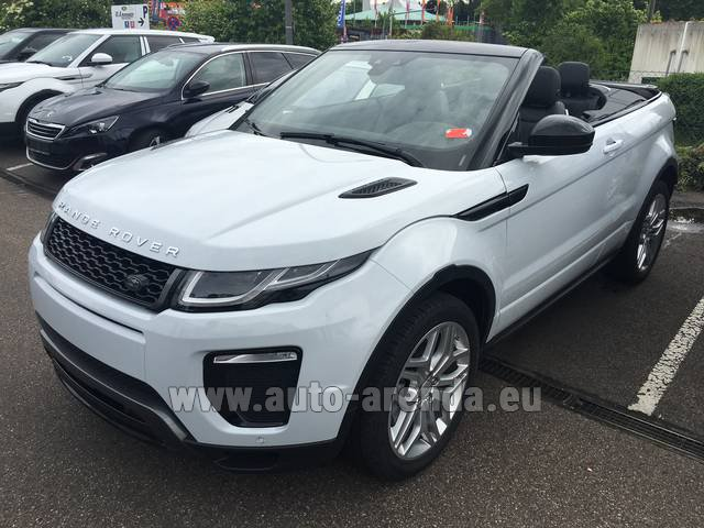Rental Land Rover Range Rover Evoque HSE Cabrio SD4 Aut. Dynamic in Europe