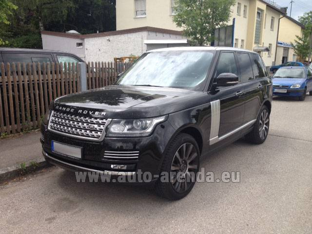 Rental Land Rover Range Rover SDV8 Autobiography in Italy