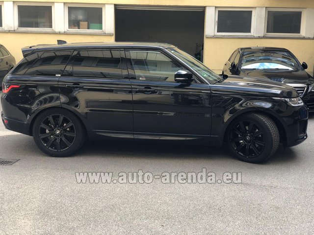 Rental Land Rover Range Rover Sport in Spain