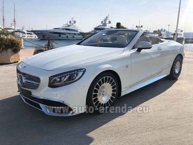 Rental Maybach S 650 Cabriolet, 1 of 300 Limited Edition in Monaco