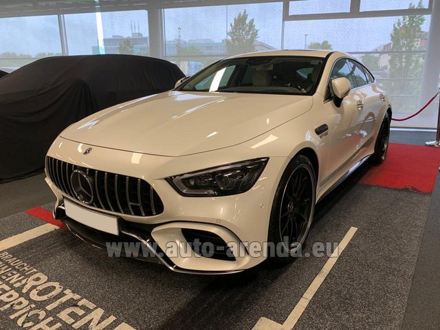 Прокат Мерседес-Бенц AMG GT 63 S 4-Door Coupe 4Matic+ в Чехии