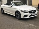 Rent-a-car Mercedes-Benz C-Class C 180 Cabrio AMG Equipment White in Italy, photo 1