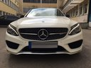Rent-a-car Mercedes-Benz C-Class C43 AMG Biturbo 4MATIC White in Italy, photo 2