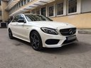 Rent-a-car Mercedes-Benz C-Class C43 AMG Biturbo 4MATIC White in Spain, photo 5