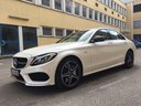 Rent-a-car Mercedes-Benz C-Class C43 AMG Biturbo 4MATIC White in Spain, photo 1