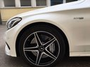 Rent-a-car Mercedes-Benz C-Class C43 AMG Biturbo 4MATIC White in Italy, photo 11