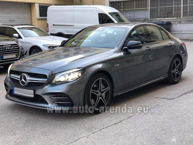 Rental Mercedes-Benz C-Class C43 BITURBO 4Matic AMG in Spain