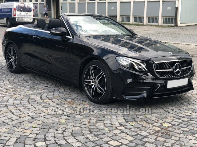Rental Mercedes-Benz E-Class E200 Cabrio AMG equipment in Luxembourg