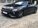 Rent-a-car Mercedes-Benz E-Class E220d Cabriolet AMG equipment in Monaco, photo 1