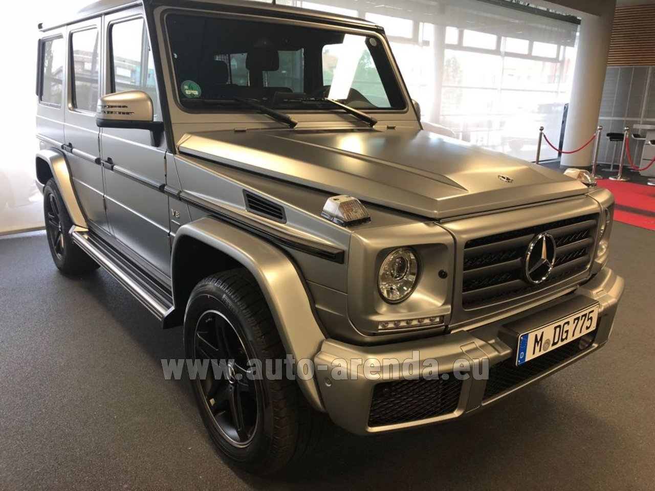 Rent The Mercedes Benz G Class G 500 Limited Edition Car In France