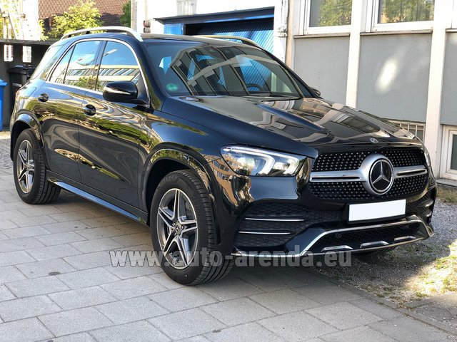 Прокат Мерседес-Бенц GLE 400 4Matic AMG комплектация в Чехии