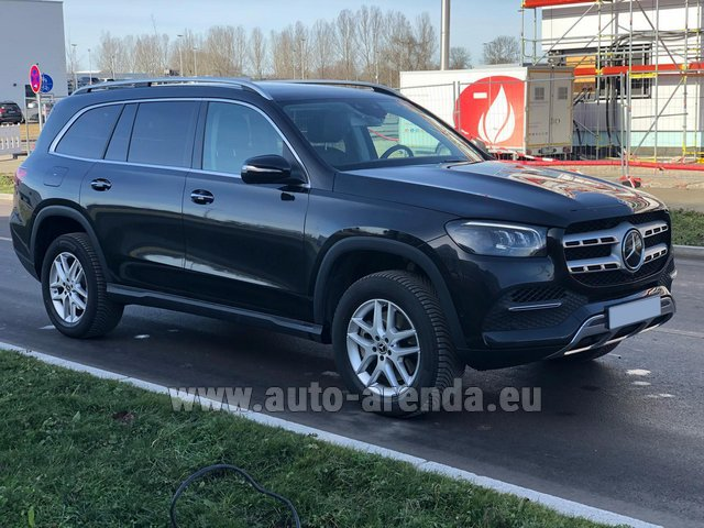 Прокат Мерседес-Бенц GLS 350 4Matic AMG комплектация в Европе