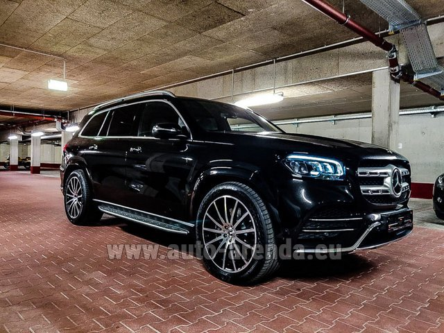 Rental Mercedes-Benz GLS 400d 4MATIC BlueTEC equipment AMG in Germany