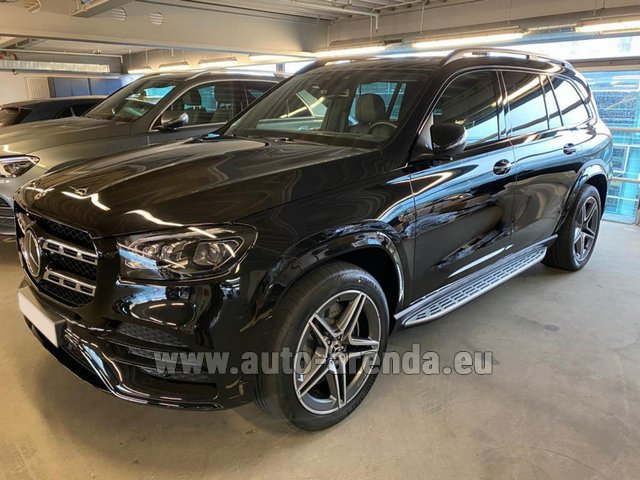 Rental Mercedes-Benz GLS 400d BlueTEC 4MATIC equipment AMG in Germany