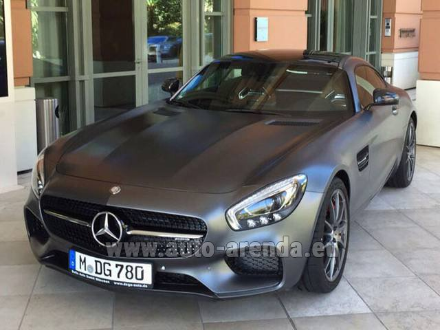 Rental Mercedes-Benz GT-S AMG in The Czech Republic