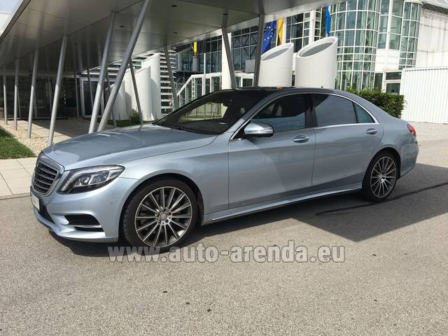 Прокат Мерседес-Бенц S 350 L BlueTEC 4MATIC AMG в Люксембурге